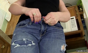 Smell your sister's appealing rectal hole brother - taboo milf perverted kristi