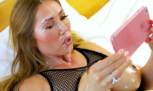 Perfect pov large tit kianna dior gives pov oral & acquires sexy facial